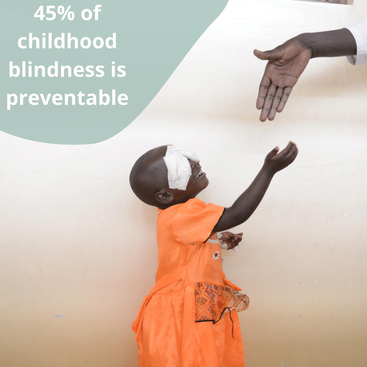 Facebook Image - Childhood Blindness